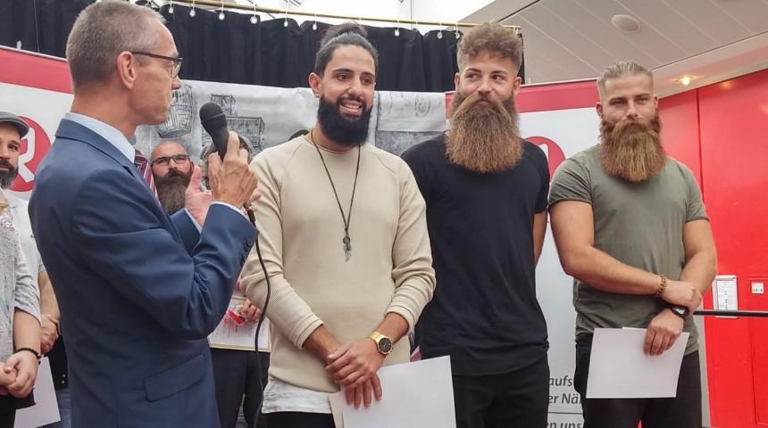 Bartcontest – die Gewinner