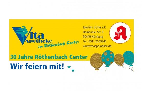 Vita Apotheke – Wir feiern mit!